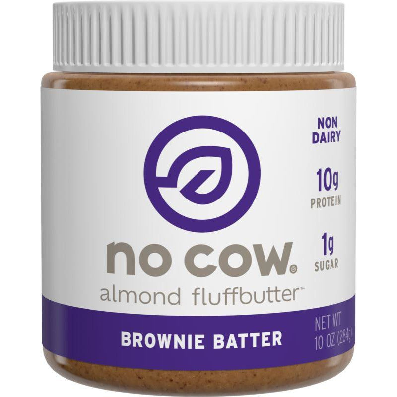 No Cow - Almond Brownie Batter Fluffbutter (284g)