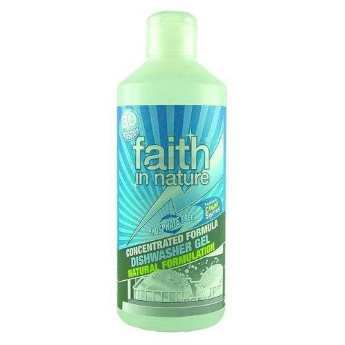 Faith In Nature Concentrated Formula Dishwasher Gel
