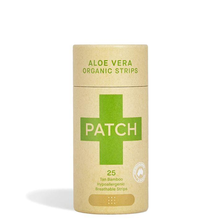 First Aid - Patch - Organic Bamboo Biodegradable Plasters - Aloe Vera (25 Plasters)