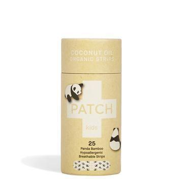 First Aid - Patch - Organic Bamboo Biodegradable Plasters - Coconut Oil Kids (25 Plasters)
