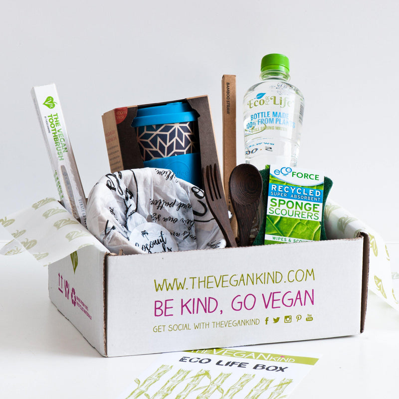 "Gift Boxes - Vegan ""Eco Life"" Gift Box"