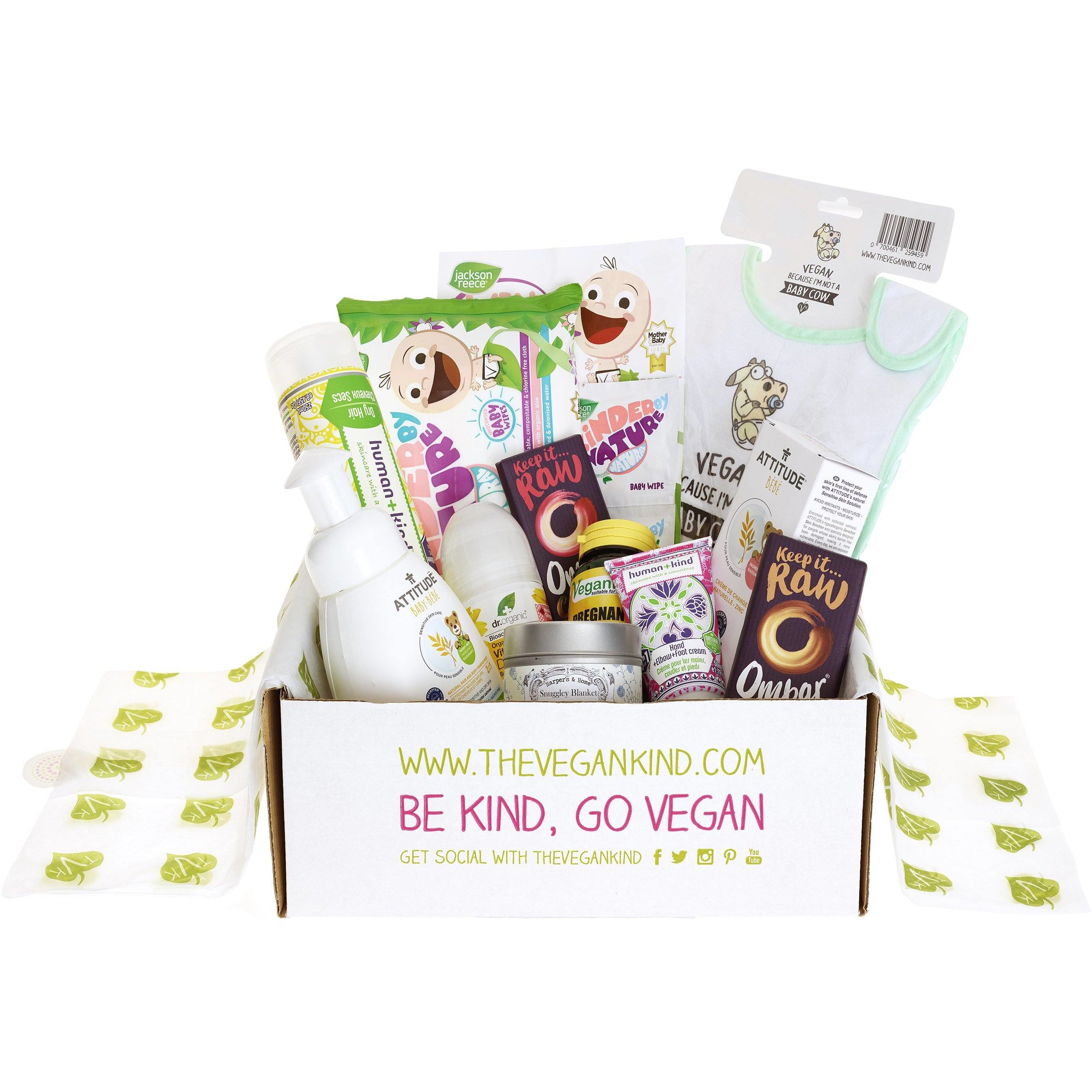 "Gift Boxes - Vegan ""Mummy & Me"" - Pregnancy/New Mum Gift Box"