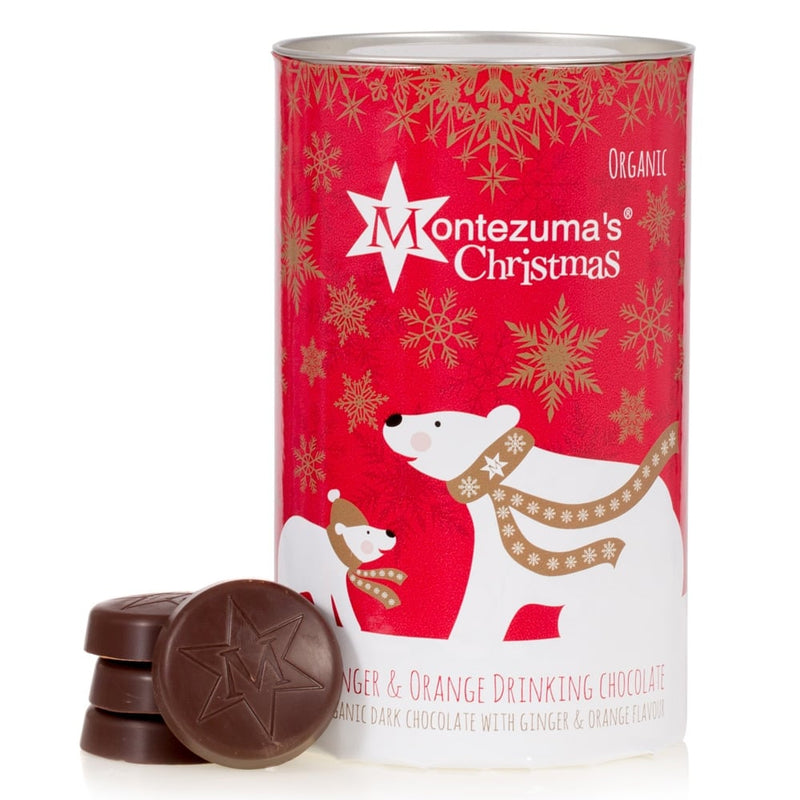 Montezuma's Christmas Ginger & Orange Drinking Chocolate (250g)