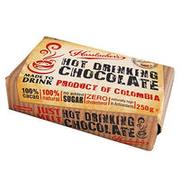 Hot Drinks - Hasslacher's Hot Chocolate Solid Bar - Easy To Melt Solid Cacao Chunks (250g)