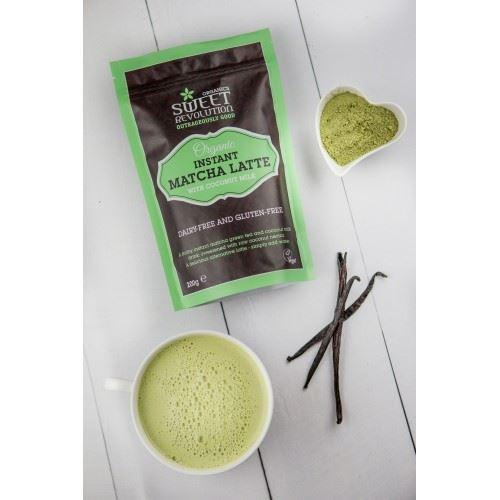 Hot Drinks - Sweet Revolution - Organic Instant Matcha Latte With Vanilla (200g)