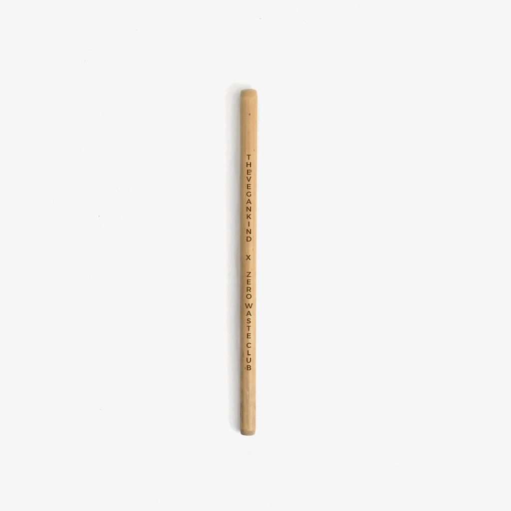 Kitchen Essentials - Zero Waste Club - BE KIND, GO VEGAN Reusable Bamboo Straw