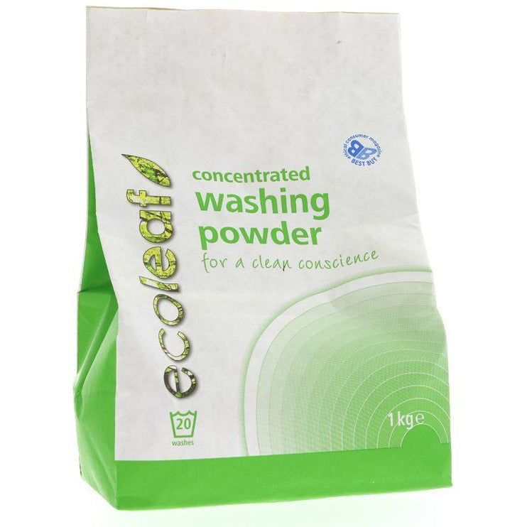 Laundry - Ecoleaf Concentrated Washing Powder (1KG)