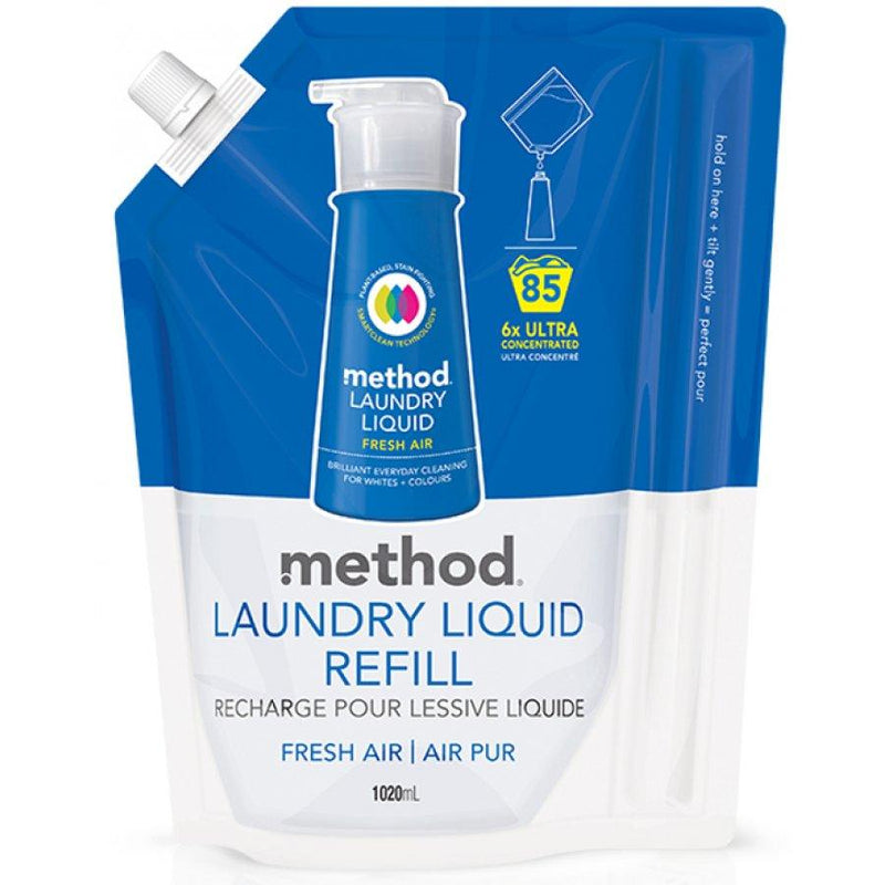 Laundry - Method Laundry Liquid. Fresh Air (Various)