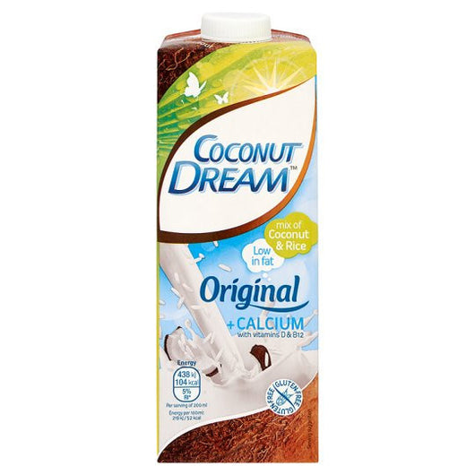 Milk - Coconut Dream - Original + Calcium Entriched With Vitamin D & B12