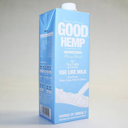 Milks - Good Hemp Unsweetened (1ltr)