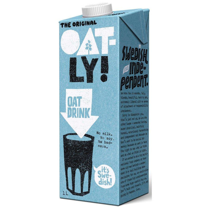 Milks - Oatly Original Oat Milk (1ltr)