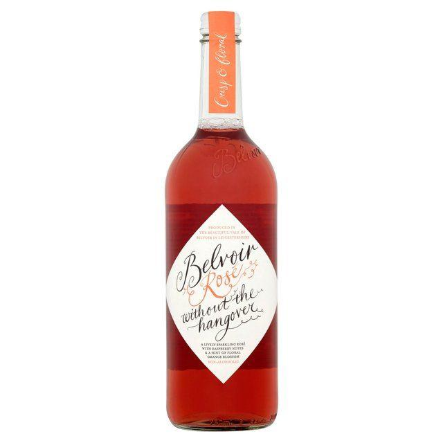 Non-Alcoholic - Belvoir - Alcohol Free Sparkling Rose Wine (750ml)