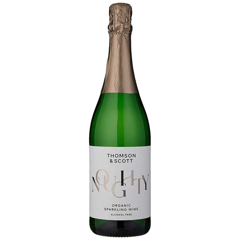 Non-Alcoholic - Thomson & Scott - Organic Vegan Noughty - Alcohol Free Sparkling Wine (75cl)