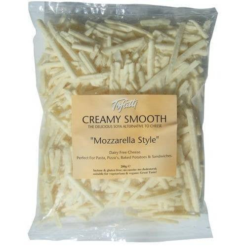 Non-Dairy Grated - Tofutti Creamy Mozzarella Grated Cheese (200g)