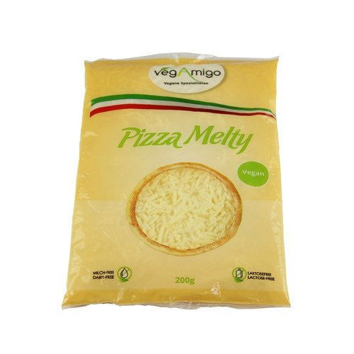 Non-Dairy Grated - Veganic Pizza Melty, Finely Grated (200g)