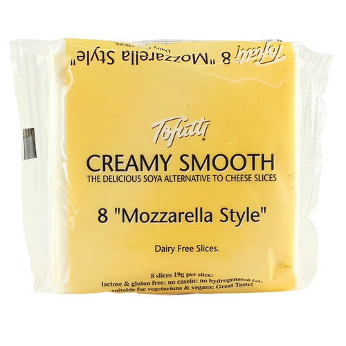 Non-Dairy Slices - Tofutti Creamy Smooth Slices, Mozzarella Style (8 Slices)