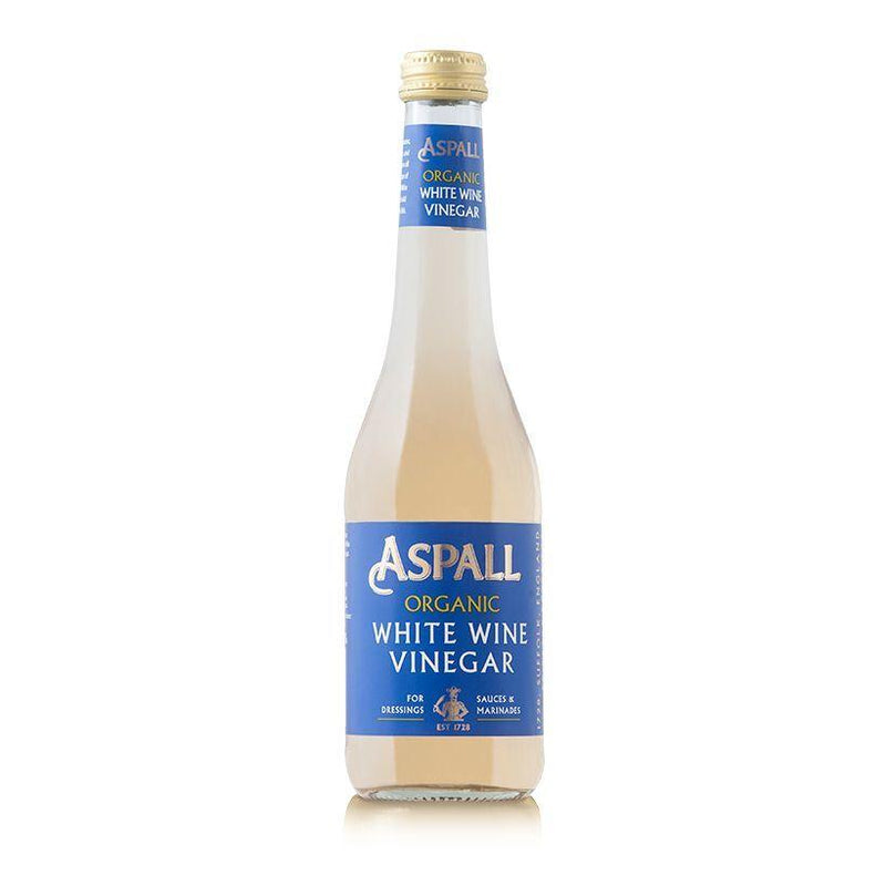 Oils & Vinegars - Aspall - Organic White Wine Vinegar (350ml)