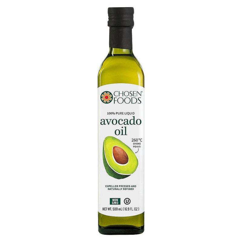 Oils & Vinegars - Chosen Foods - 100% Pure Avocado Oil (500ml)