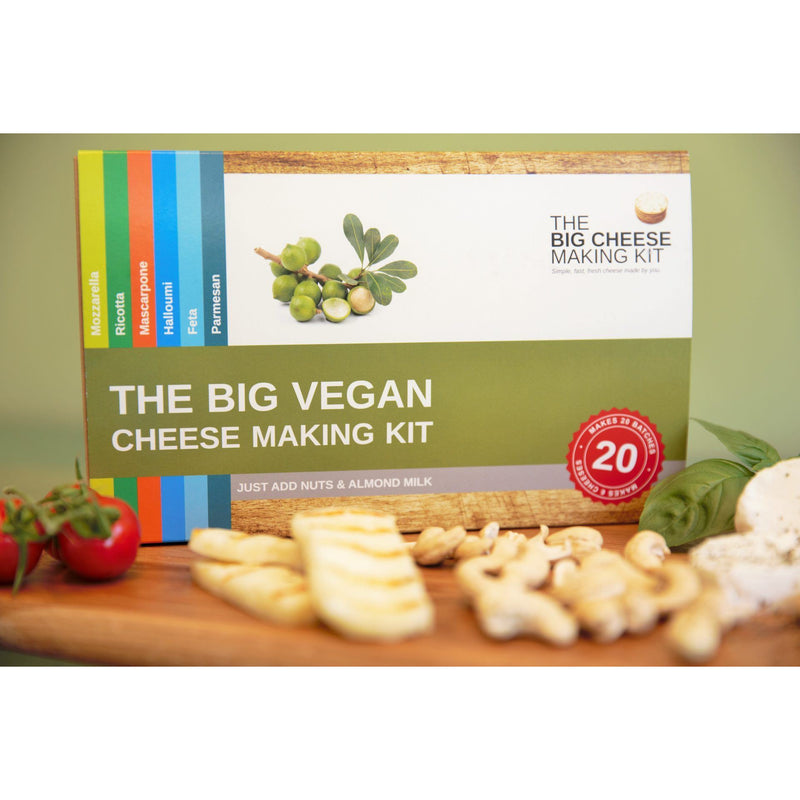 Other Gifts - The Big Vegan Cheese Making Kit - The Big Vegan Cheese Making Kit (Makes 20 Batches)