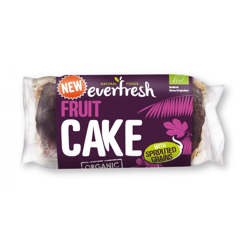 Other Snacks - Everfresh Natural Foods - Organic Sprouted Fruit Cake (350g)