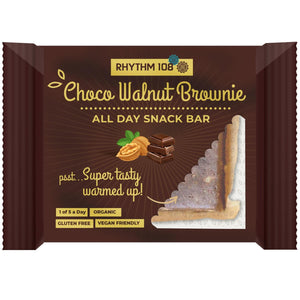 Other Snacks - Rhythm 108 - Organic Choco Walnut Brownie (40g)