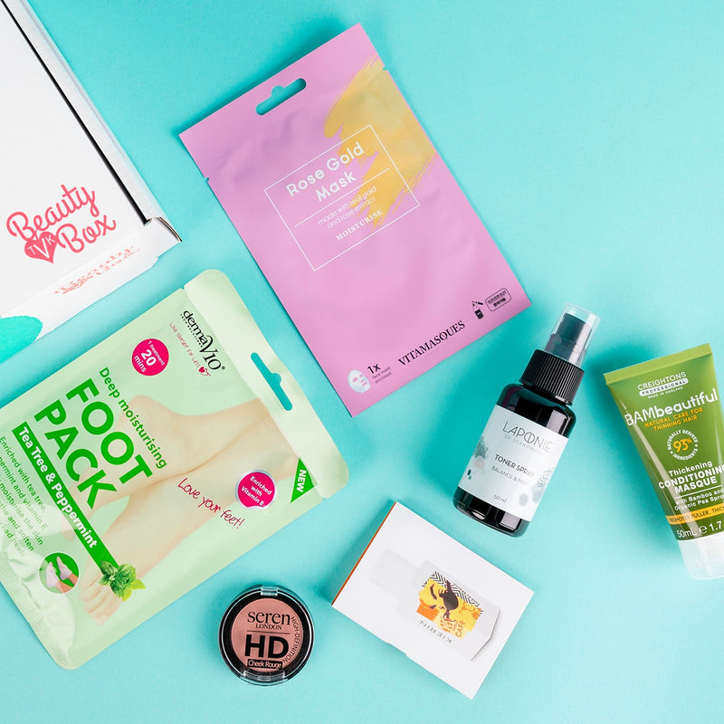 Past TVK Boxes - Our Latest Vegan Beauty Box - The Summer Pamper Edition!
