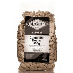 Pastas, Grains & Pulses - Green City - Cannellini Beans 500g
