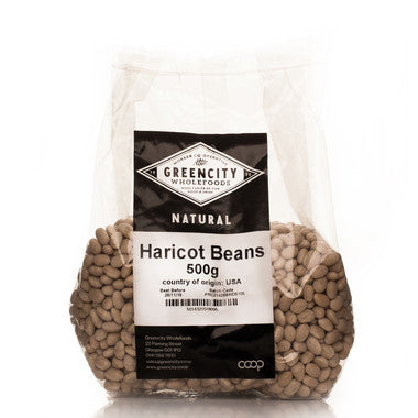 Pastas, Grains & Pulses - Green City - Haricot Beans (500g)