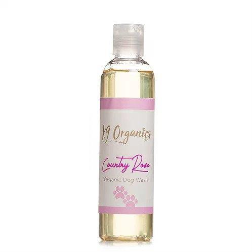Pets Accessories - K9 Organics - Country Rose Dog Shampoo (250ml)