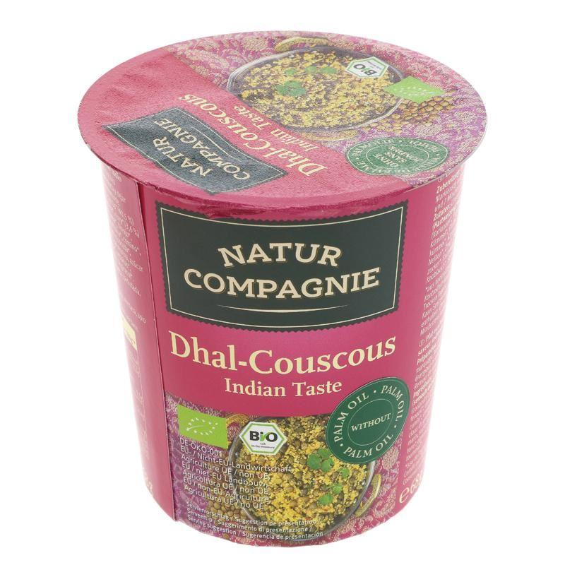 Ready Meals - Natur Compagnie - Dhal Couscous Snack Pot (68g)