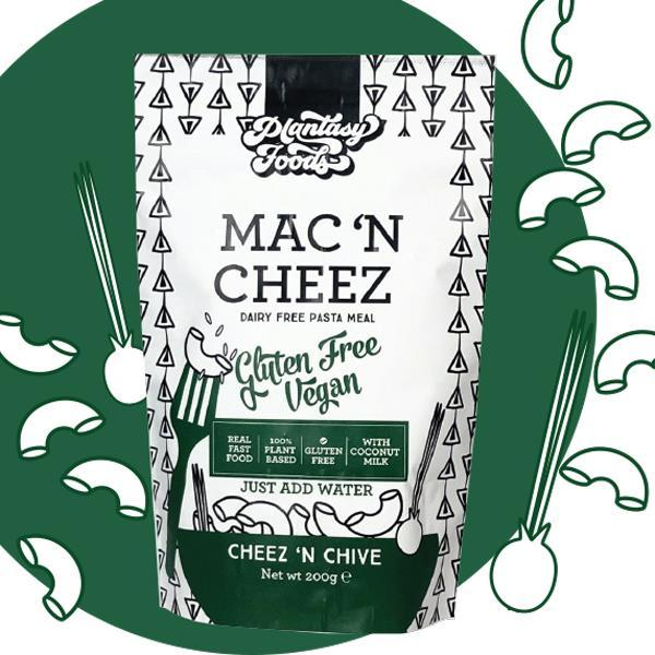 Ready Meals - Plantasy Foods - Cheez 'n Chive Mac 'n Cheez (gluten Free) (200g)