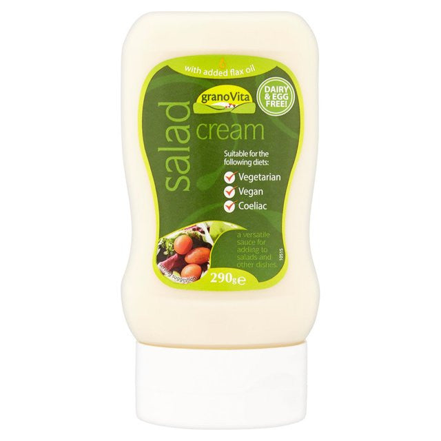 Sauces & Spreads - Granovita Vegan Salad Cream (290g)