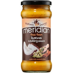 Sauces & Spreads - Meridian Free From Korma Cooking Sauce (350g)