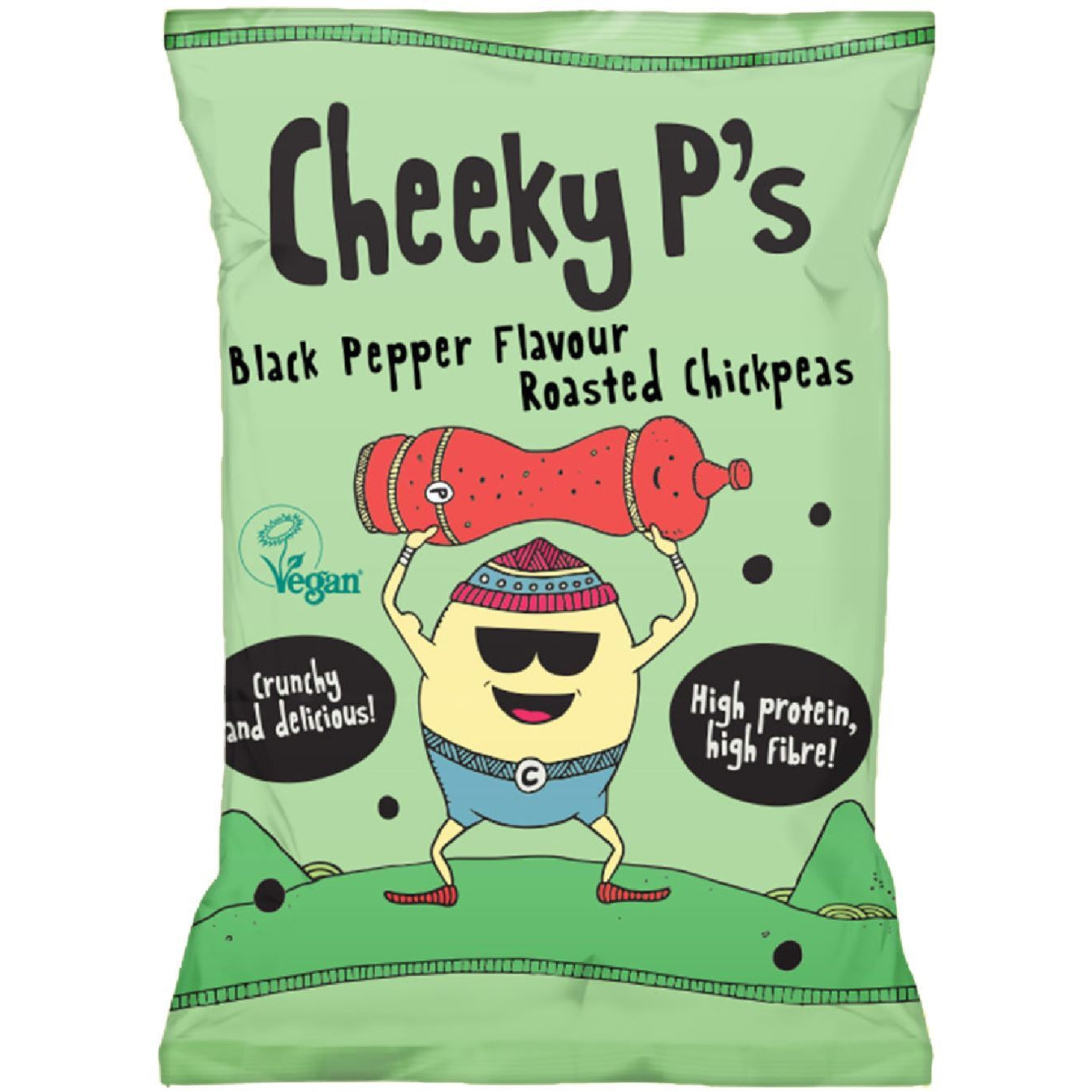 Savoury Snacking - Cheeky P's - Roasted Chickpeas (50g) (Various)