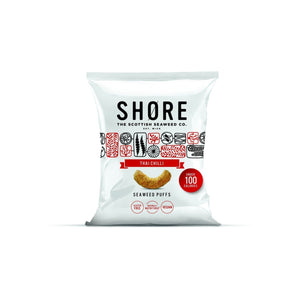 Savoury Snacking - Shore - Thai Chilli Seaweed Puffs (25g)
