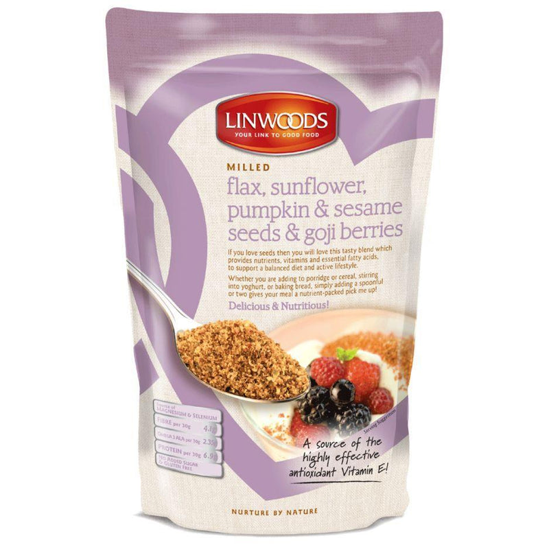 Seeds - Linwoods - Organic Flaxseed Sunflower Pumpkin Seasame & Goji (425g)