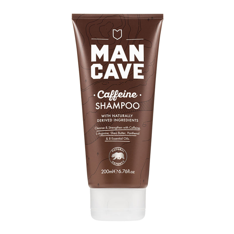 Shampoos & Conditioners - ManCave - Caffeine Shampoo (200ml)