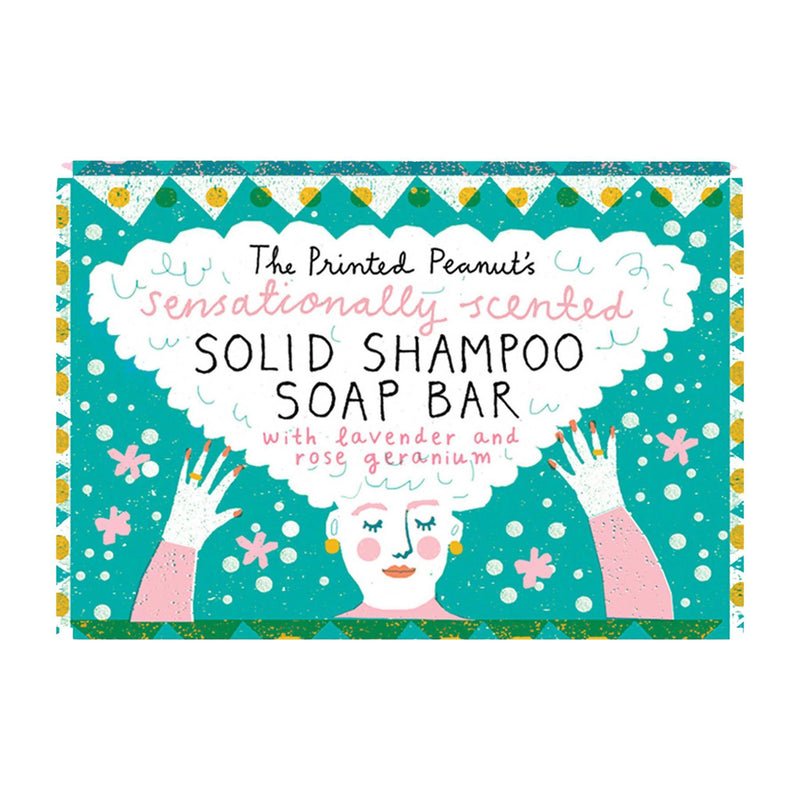 Shampoos & Conditioners - The Printed Peanut - Solid Shampoo Bar (95g)