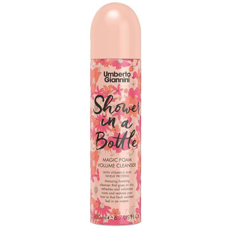 Shampoos & Conditioners - Umberto Giannini - Shower In A Bottle - Magic Foam Volume Cleanser (200ml)