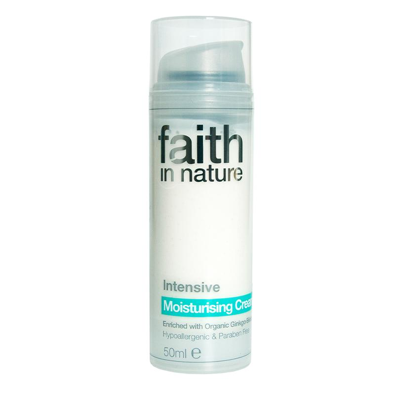 Skin Care - Face - Faith In Nature Intensive Moisturising Cream (50ml)