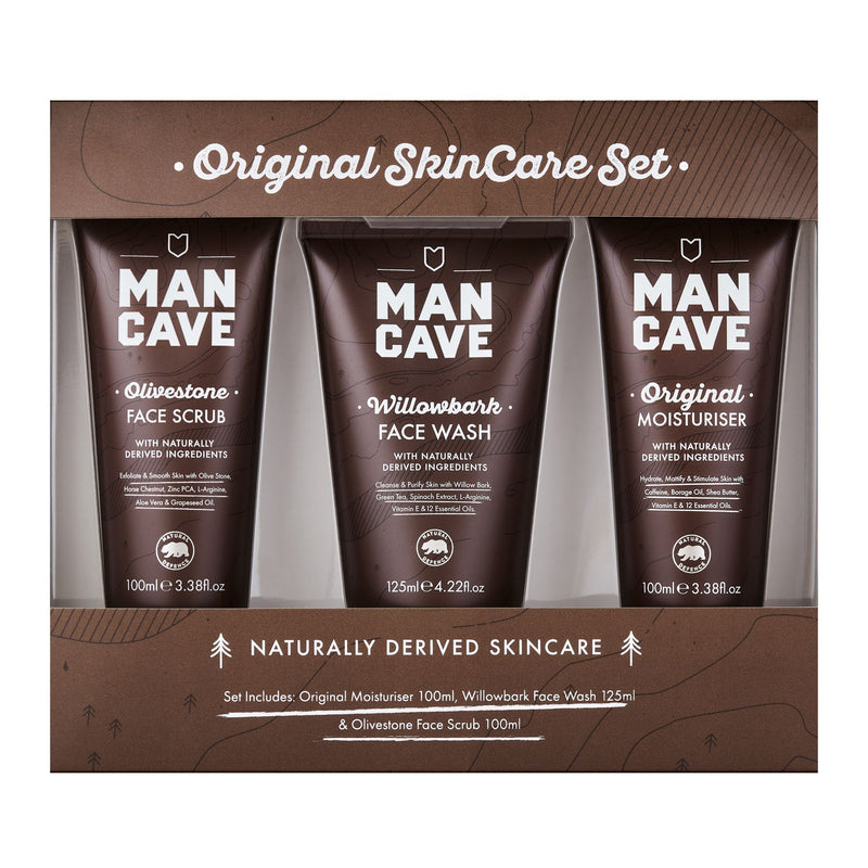 Skin Care - Face - ManCave - Original Skincare Set (3 Pack)