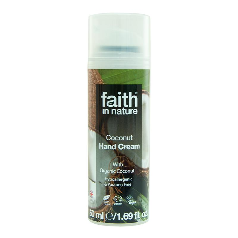 Skin Care - Hands - Faith In Nature Coconut Hand Cream 50ml