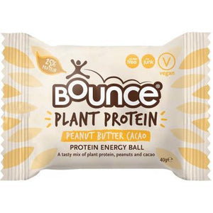 Snack Bars - Bounce - V Life Vegan Protein Energy Ball Cacao Peanut (40g)