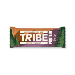 Snack Bars - Tribe - Protein Coffee + Walnut Bar Natural Protein Bar (50g)