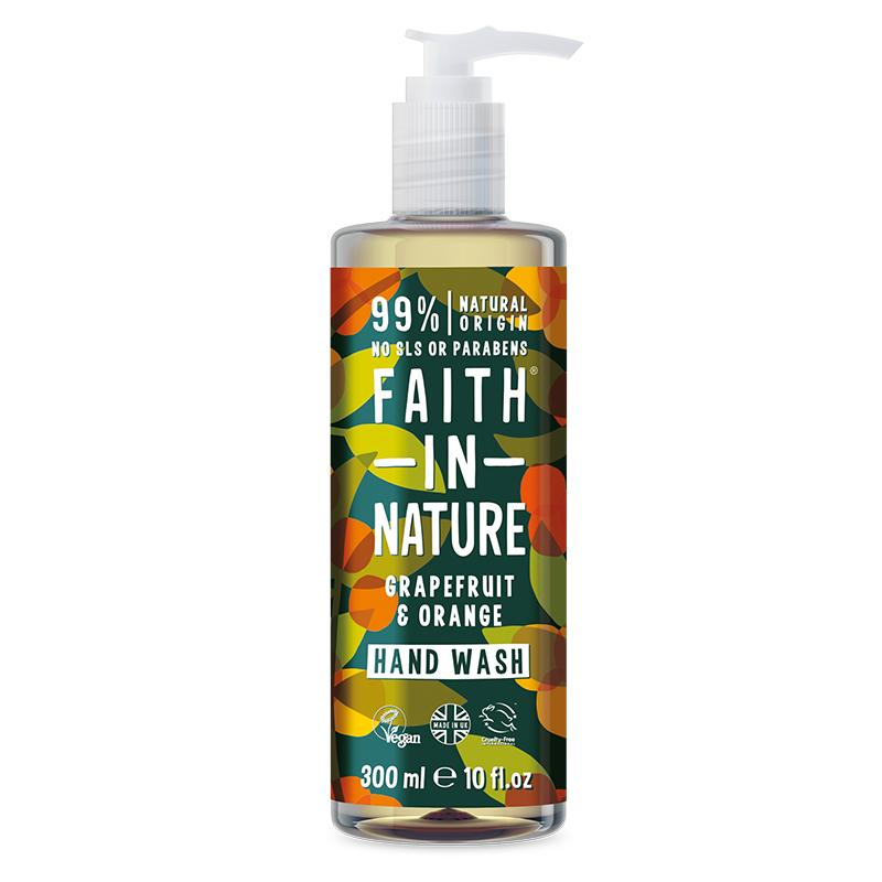 Soaps & Washes - Faith In Nature Grapefruit & Orange Hand Wash