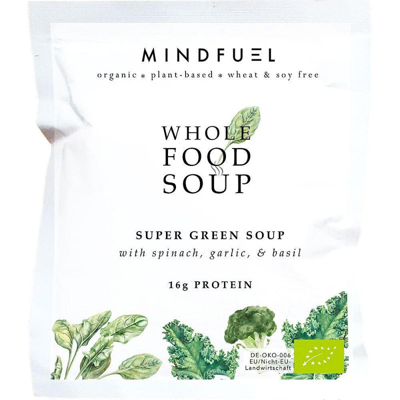 Soups - Mindfuel - Organic Whole Food Protein Soup - Super Green (44g)