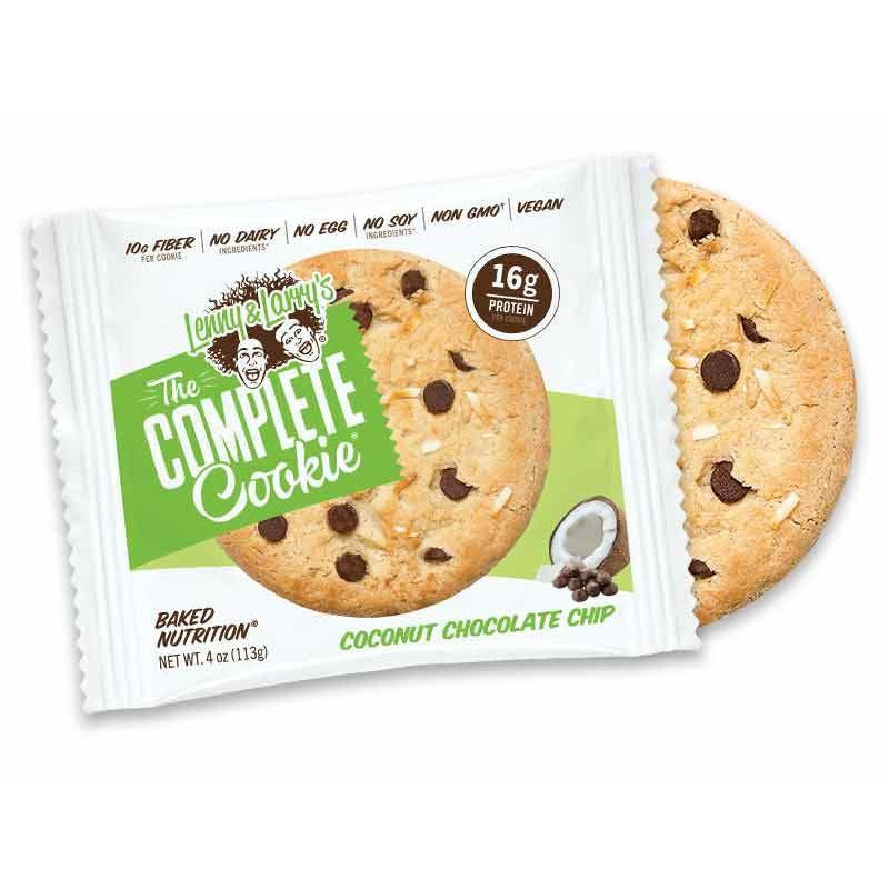 Sports Supplements - Lenny & Larry's - The Complete Cookie Coconut Chocolate Chip (113g)