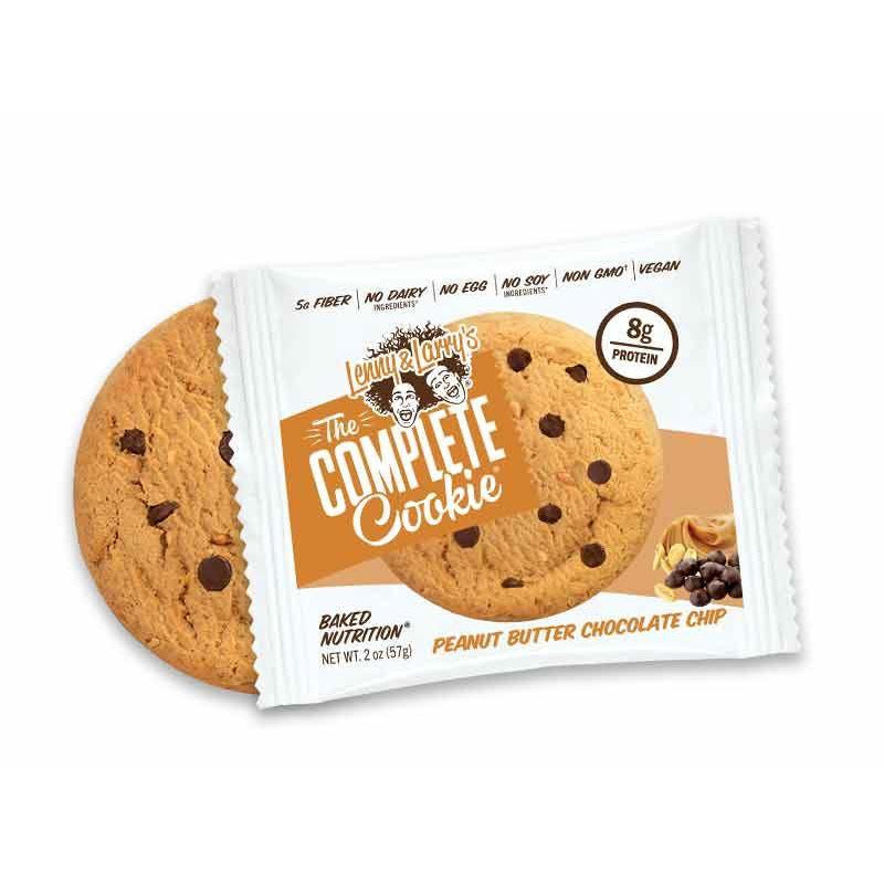 Sports Supplements - Lenny & Larry's - The Complete Cookie Peanut Butter Chocolate Chip (113g)