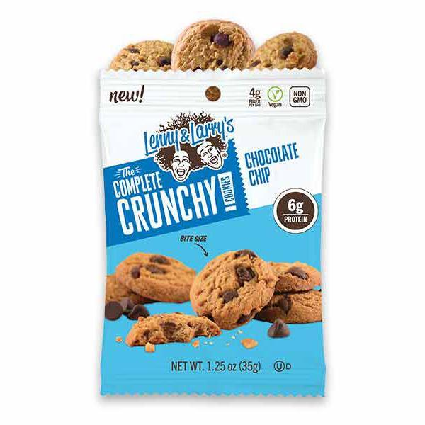 Sports Supplements - Lenny & Larry's - The Complete Crunchy Cookie - Chocolate Chip (37.5g)