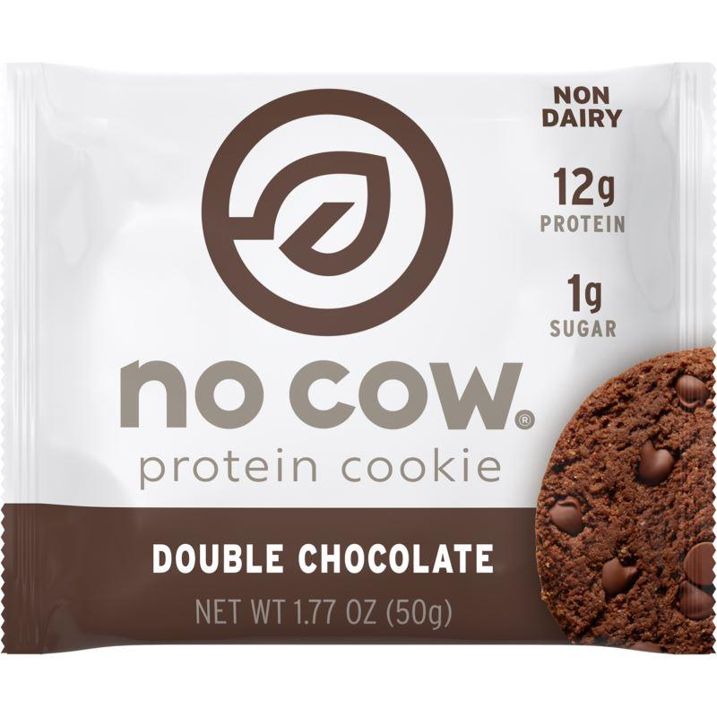 Sports Supplements - No Cow - Double Chocolate Protein Cookie (50g)